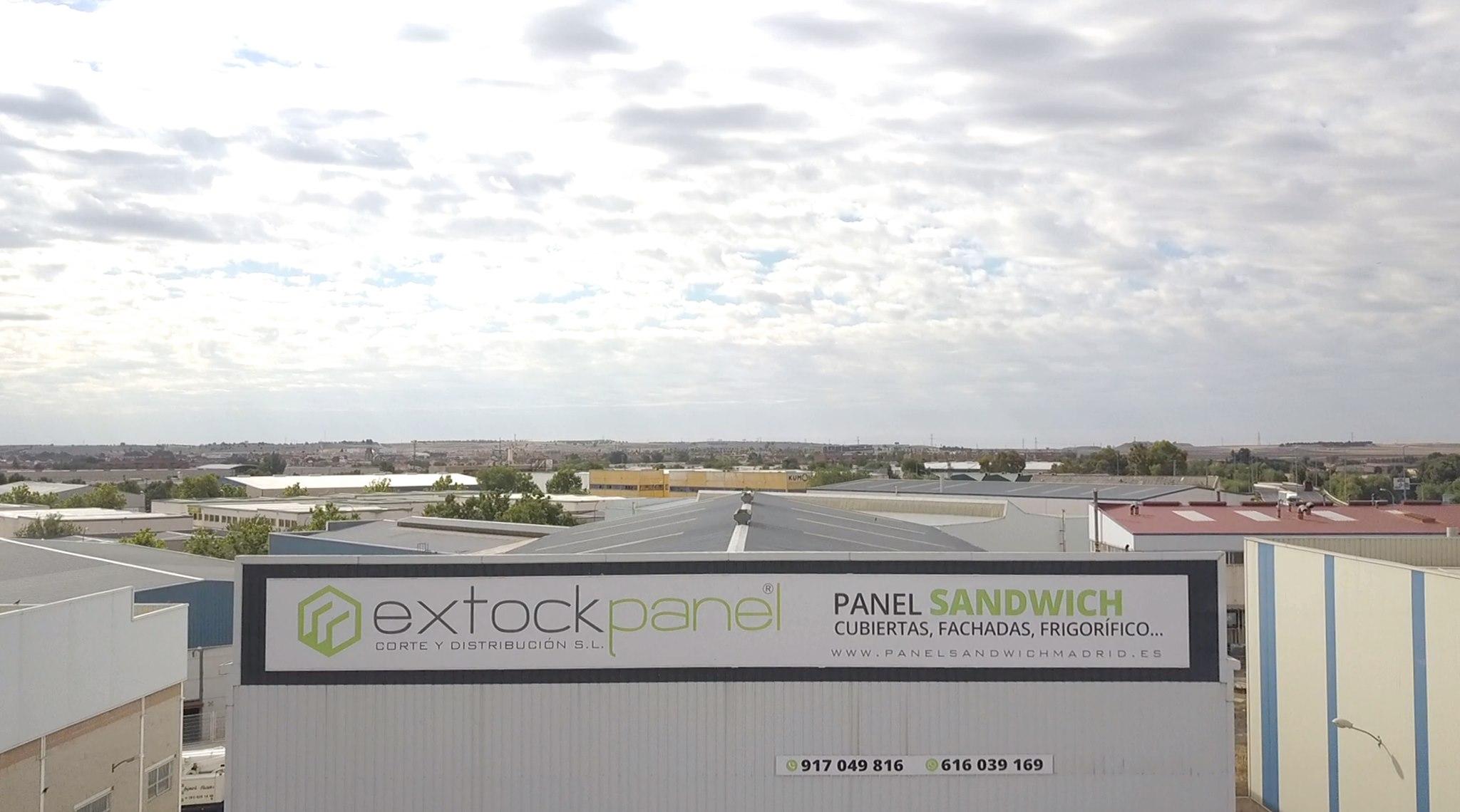 Vista aérea de la nave de Extockpanel